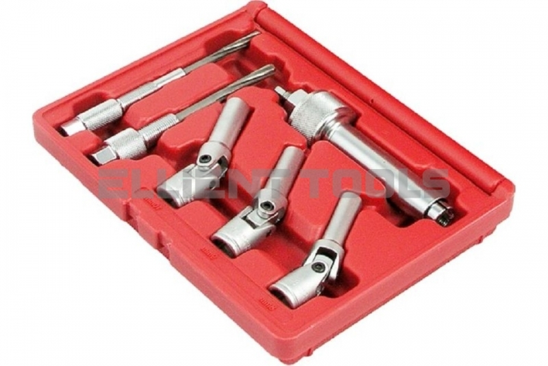 Glow Plug Puller & Ream Kit with 3pcGlow/Spark Sockets