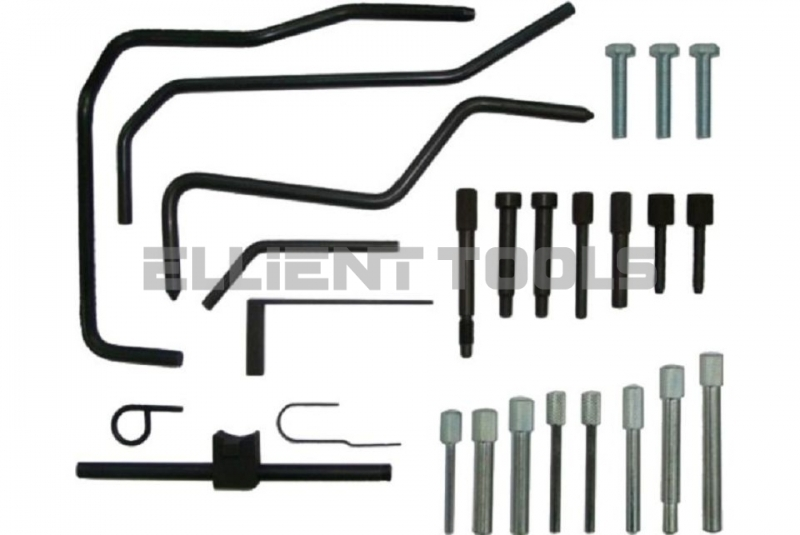 Diesel & Petrol Engine Setting/Locking Tool Kit For Citroen/Peugeot Including Cam & Direct Injection Engines