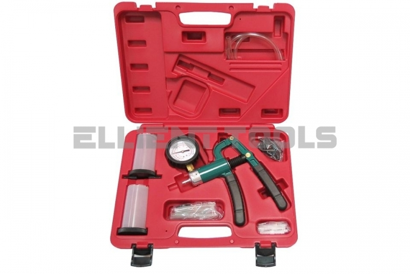 Swivelable Gauge Brake Bleeding Kit