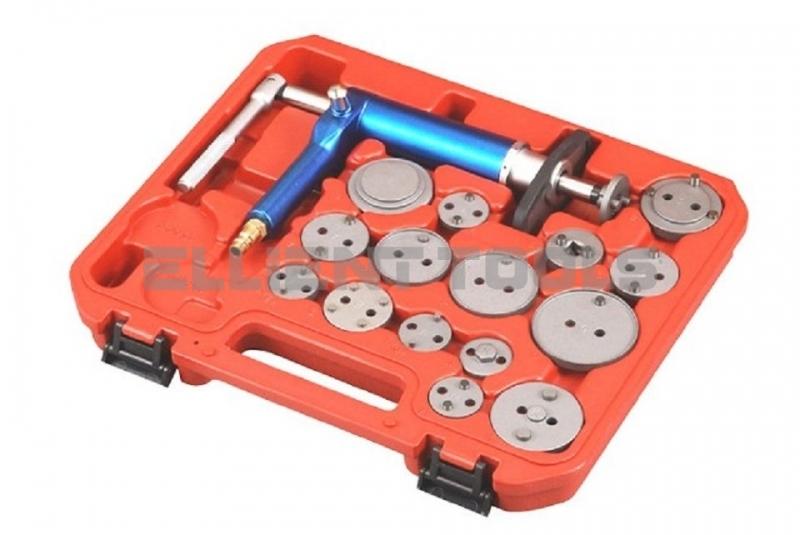 Air Operated Brake Piston Wind-Back Tool Kit 16pc