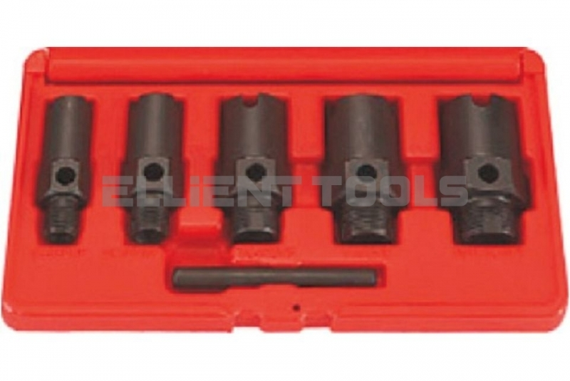 A/C SAE Fitting Thread Chasers Set 6pce