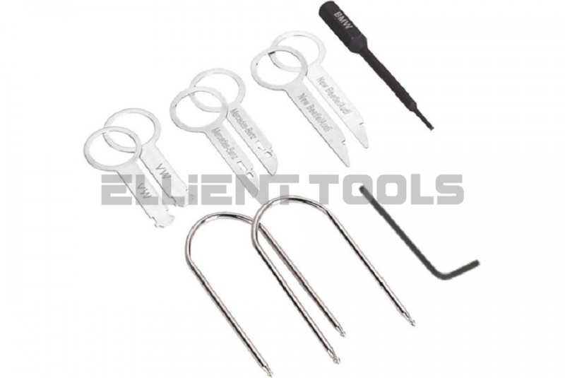 Radio Removal Tool Kit 10pc